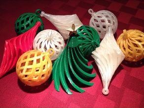 Ornaments collection - Thingiverse karácsonyi díszek, ötletek 3D nyomtatóval