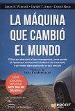 La máquina que cambió el mundo / James P. Womack, Daniel T. Jones, Daniel Roos ; prólogo de Lluís Cuatrecasas