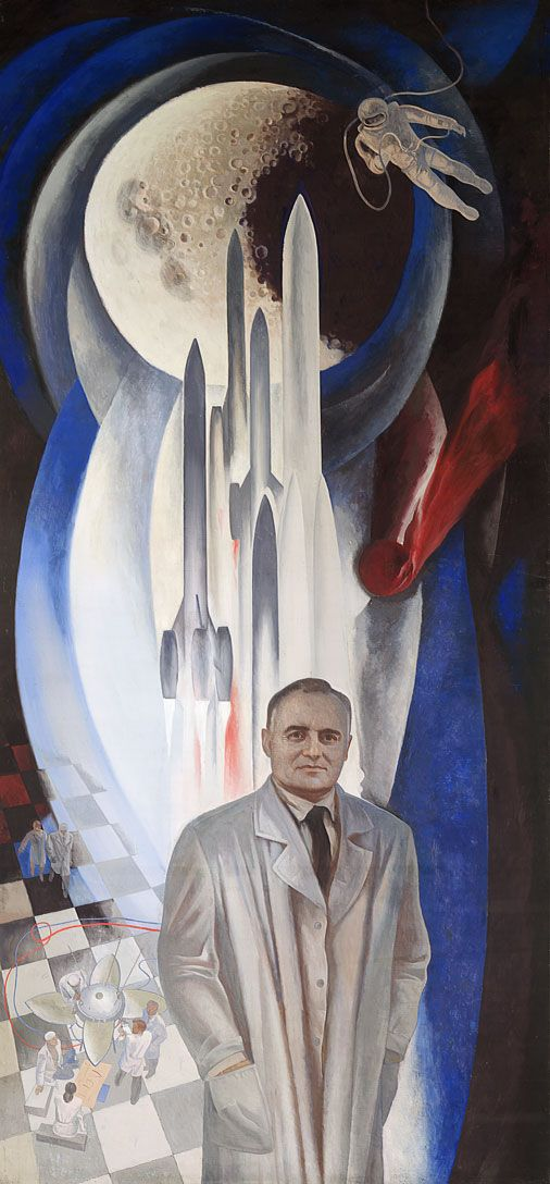 Father of the Space Age - in December 1965 Sergei Pavlovich Korolev was finally put in charge of the Soviet Union's manned lunar programme