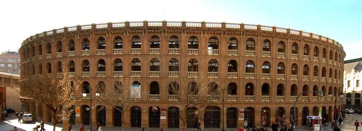 La majestuosa plaza de toros de Valencia