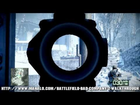 Battlefield: Bad Company 2 Walkthrough - Chapter 1: Cold War Part 1 HD - http://www.thehowto.info/battlefield-bad-company-2-walkthrough-chapter-1-cold-war-part-1-hd/
