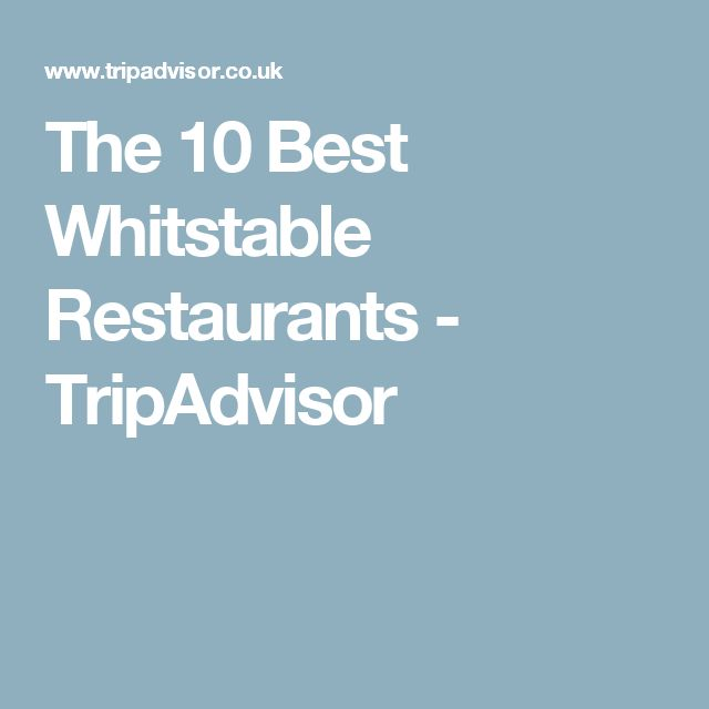 The 10 Best Whitstable Restaurants - TripAdvisor