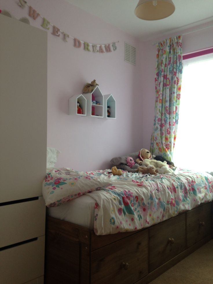 Little Girl S Bedroom Box Room Finished Dulux Spring