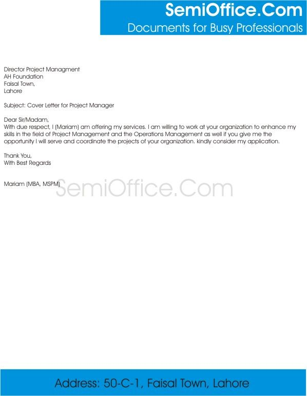 Die besten 25+ Project manager cover letter Ideen auf Pinterest - cover letter for project manager