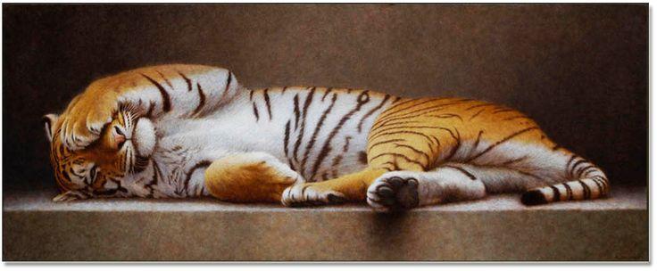 Artiste peintre animalier Remi Bourquin