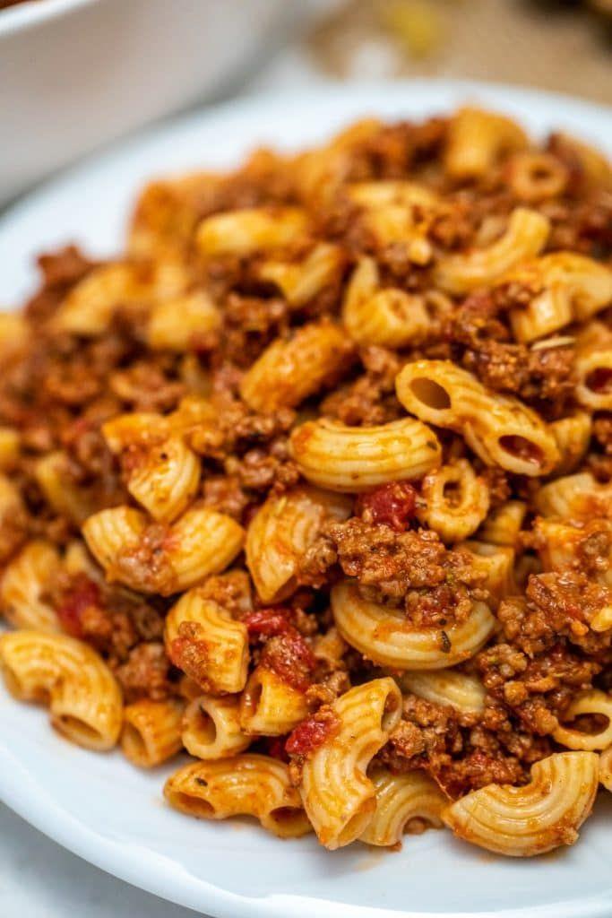 Simple Old Fashioned Goulash Recipe Recipe In 2020 Goulash Recipes Beef Recipes Easy Recipes