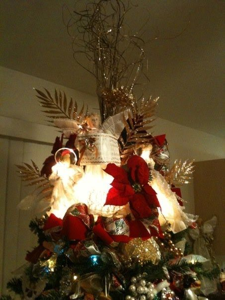 tree topper fabulously frugal christmas