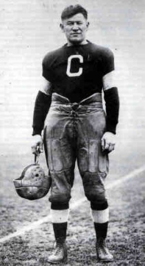 Jim Thorpe was an American athlete of both Native American and European ancestry. Considered one of the most versatile athletes of modern sports, he won Olympic gold medals for the 1912 pentathlon and decathlon, played American football (collegiate and professional), and also played professional baseball and basketball.