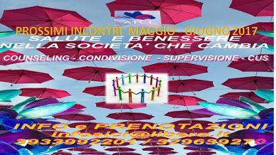 """SCUOLA COUNSELING  GRUPPI  A.I.C.I Roma Counseling : Condivisione IntervisioneSupervisione AICI ROMA""""..."""