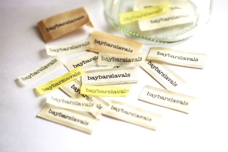 Evde Etiket Yapımı (DIY Ribbon Labels)
