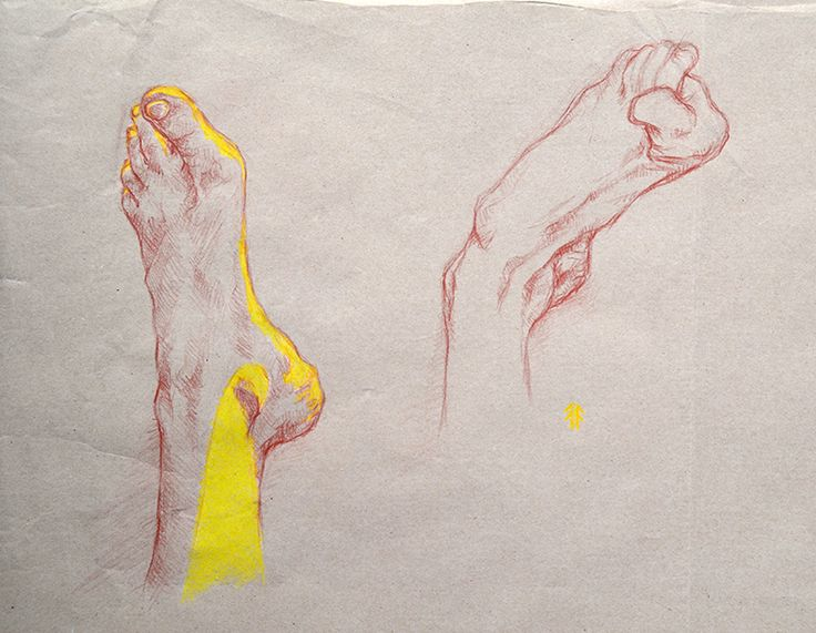 Sketches of Feet (by Fikus)
