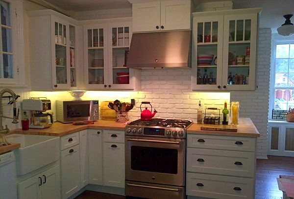 I Love The Off White Cabinets Glass Doors On Cabinets
