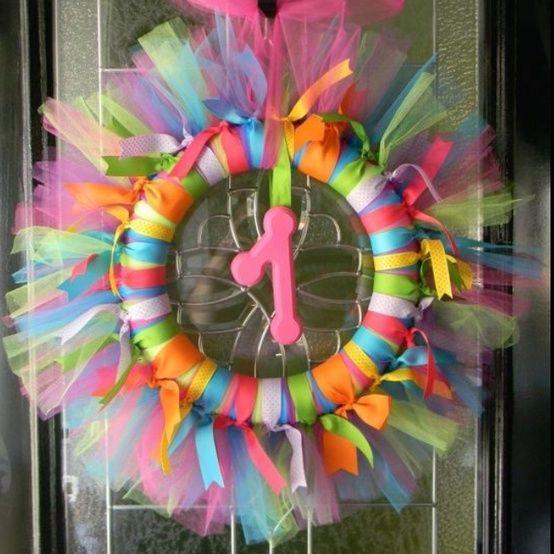 Birthday wreath! by cheryl