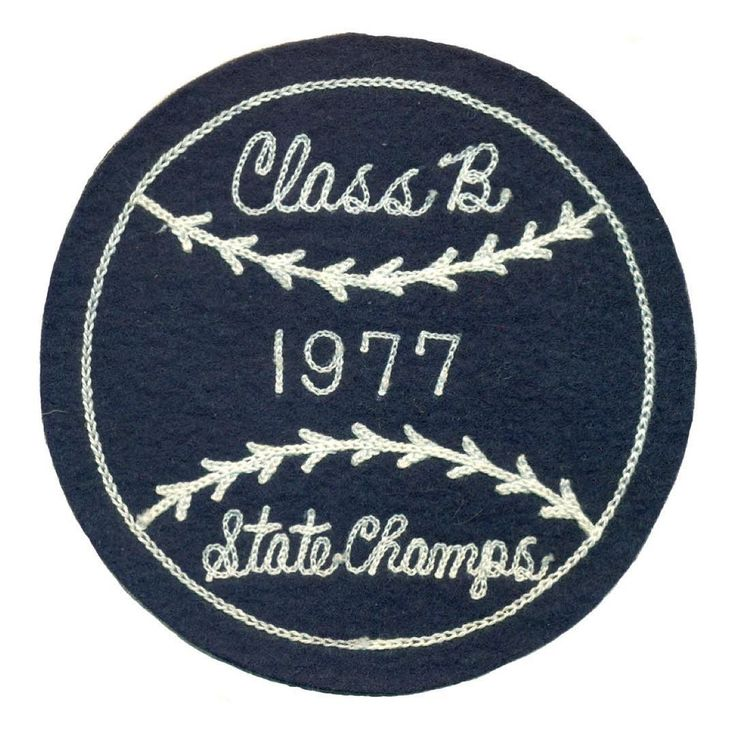 #vintage #sportpatch #patch #baseball #chainstitch #champs #1977 #letterman…