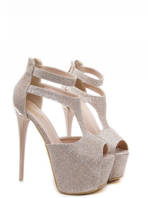 544ca5110f523d Peep Toe T-Bar Platform Heels