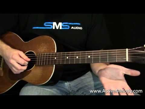 How to Play chords on the guitar in a Delta blues style ...