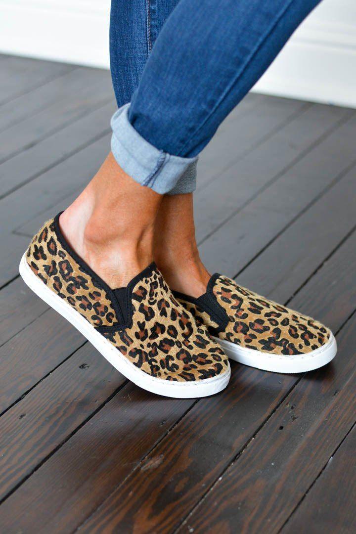 Walk The Floor Leopard Slip On Sneaker