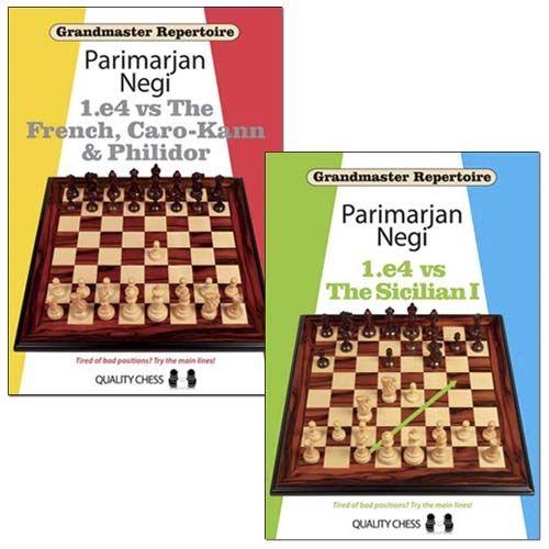 SOME OF THE GREATEST CHESS BOOKS OF ALL TIMES => Grandmaster Repertoire: 1.e4 vs The French, Caro-Kann & Philidor and 1.e4 vs The Sicilian I - Parimarjan Negi
