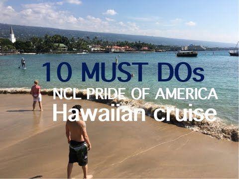 Pride of America Cruise Preview: Hawaii ~ Norwegian Cruise Line - YouTube