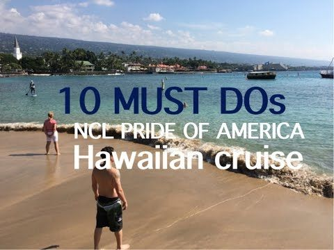 Pride of America Cruise Preview: Hawaii ~ Norwegian Cruise Line - YouTube