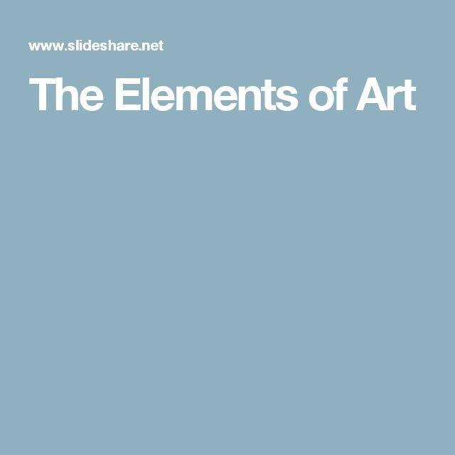 7 Elements Of Art Definitions : Best elements of art ideas on pinterest formal
