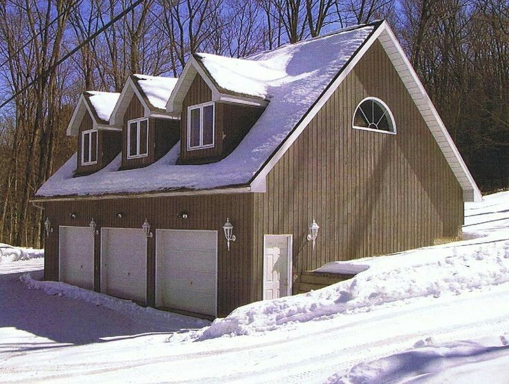 Garage Built Into Hill Addition In 2018 Pinterest Loft And House