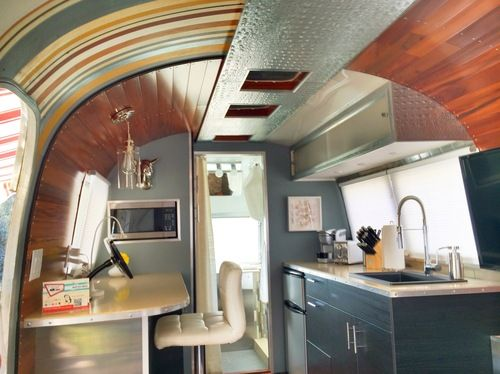 The Happier Camper • Love the walls! This website has tons of pics of camper remodels!