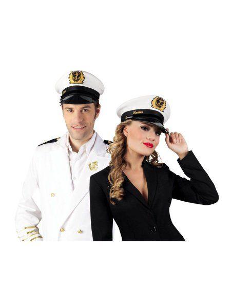 """https://11ter11ter.de/58009665.html Mütze """"Kapitän Marine"""" in verschiedenen Größen #11ter11ter #Fasching #Mottoparty #Party #Outfit #Kostüm #Mütze #Marine #maritim"""