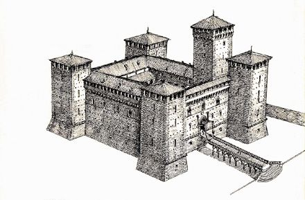 77 best images about castelli disegnati on pinterest for Piani di casa castello medievale