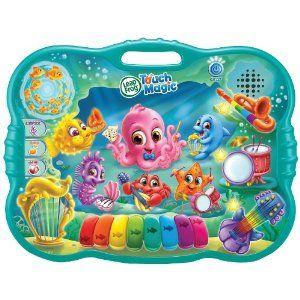 LeapFrog Touch Magic: Ocean Music School Language: English Age: 3 + Years  UPC: 708431192294