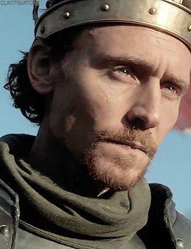 Tom Hiddleston.  #HollowCrown  Via Twitter.