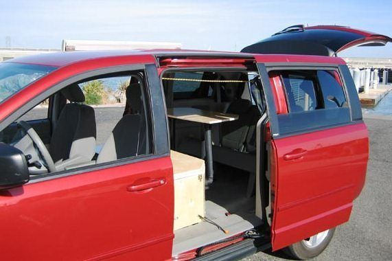 Dodge Grand Caravan Minivan Camper Minivan Camper Conversion