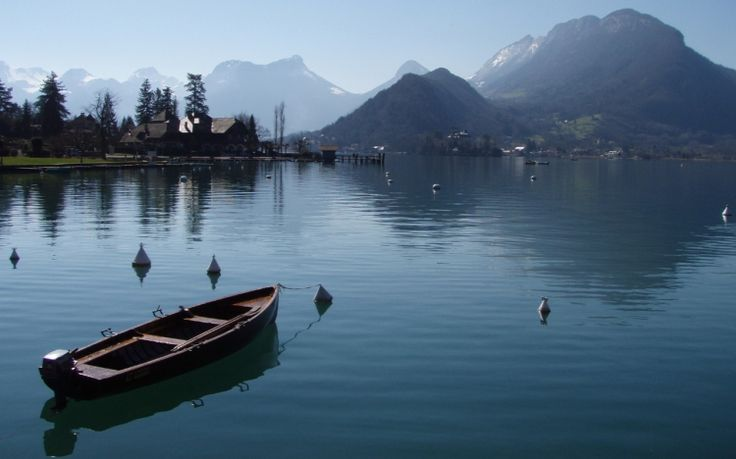 Lake Annecy, Haute-Savoie. Lake Annecy is one of the biggest French lakes and more than beautiful with its clean and clear waters. This natural site has also become a famous outdoor leisure area.