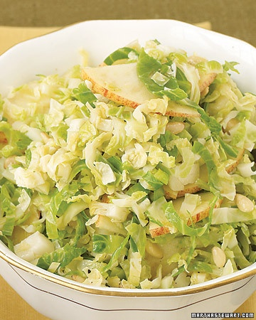 shredded brussel sprout salad