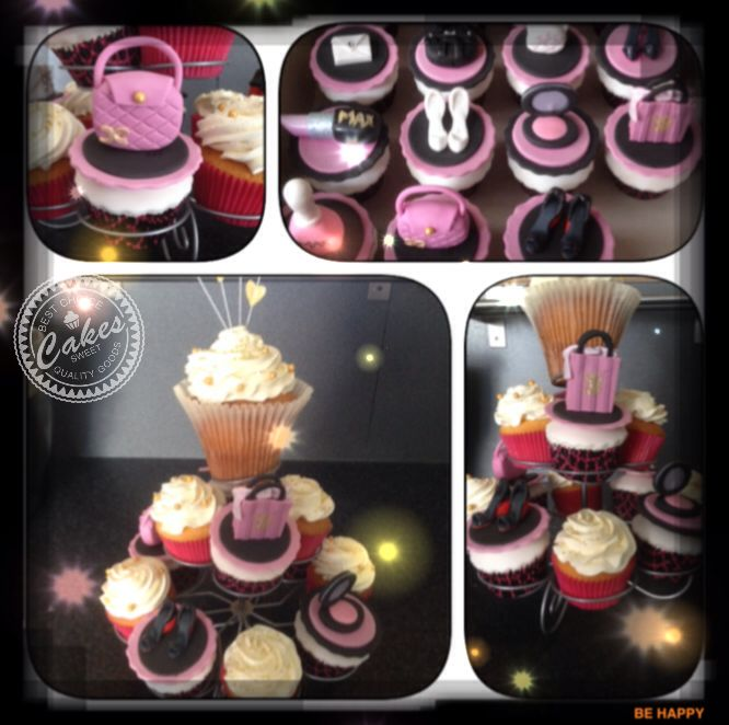 fashion cup cakes