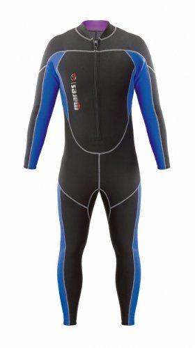 Mares Tauchanzug Tritone - Traje de buceo, color negro, talla S2