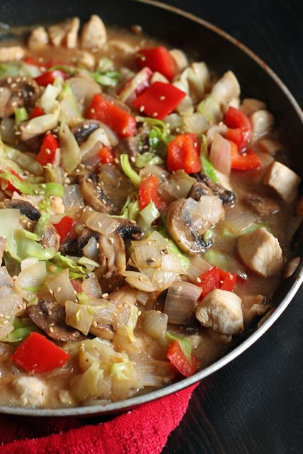 Simple Chicken and Vegetable Stir-Fry