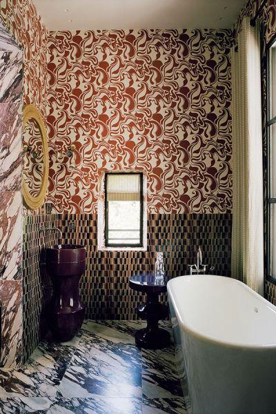 Villa des Alyscamps décoré par India Mahdavi Décoration hôtel - design - déco