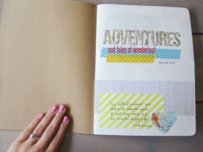 Diy Travel Journal 187 Micki Current Decorate My Pages
