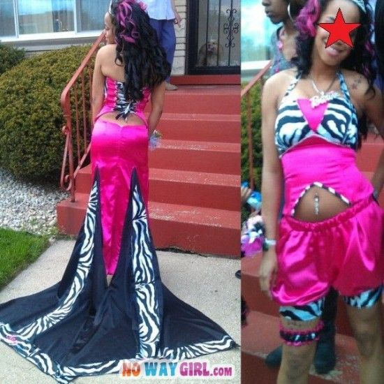 Barbie Fail Prom Dress
