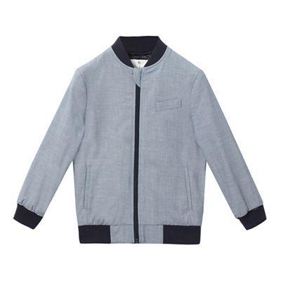 J by Jasper Conran Boys' navy bomber jacket | Debenhams