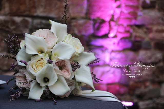 CALLE ROSE BOUQUET COUNTRY ELEGANCE BRIDE Fantasia Romantica - Proposal | Wedding | Events Planning and Design : #franciemarghewed Wedding Grey and blu / Matrimonio Grigio Azzurro