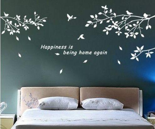 Oltre 1000 idee su parete stencil su pinterest vernice - Stencil camera da letto ...