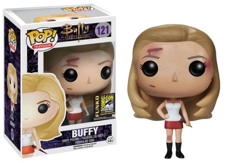 Buffy Im Bann der Dämonen POP! Vinyl Figur Buffy SDCC Exclusive 10 cm Buffy - Im Bann der Dämonen - Hadesflamme - Merchandise - Onlineshop für alles was das (Fan) Herz begehrt!