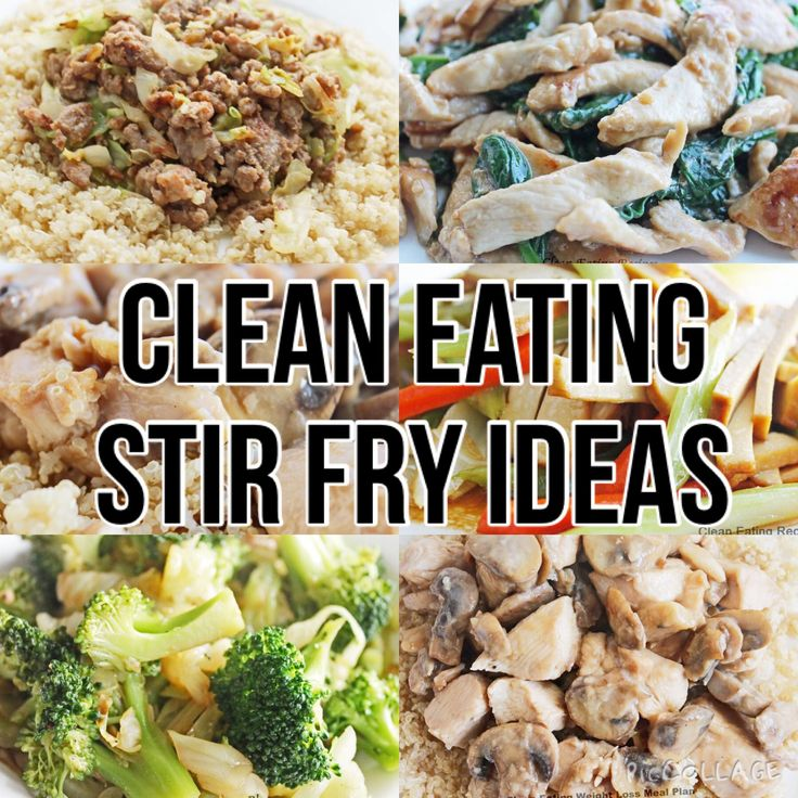 10 Best Clean Eating Stir Fry Recipes | Diet Meals and Easy Healthy Recipes that Help Me Lose Weight