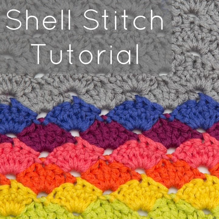 Crochet Stitch Quad Tr : ? The shell stitch is the answer! A bit of shaping makes this stitch ...