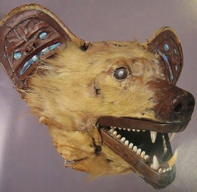 leradr:  Grizzly Bear Mask early 19th century Tlingit
