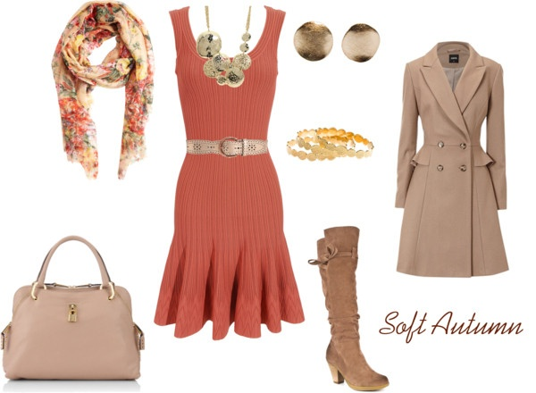 """Red for Soft Autumn 1"" by enlightenedshopper on Polyvore"