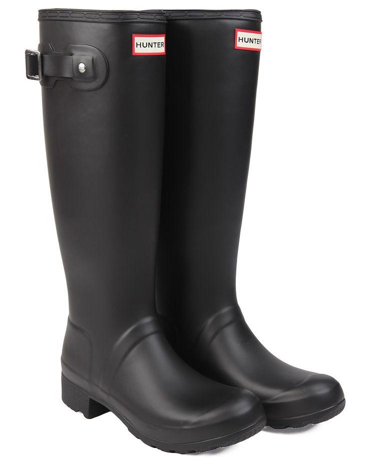 New Hunter Ladies' Original Tour Wellington Boots - Black
