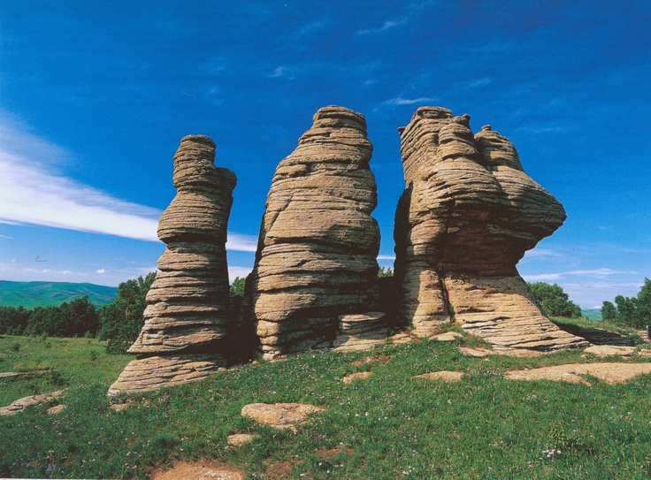 Pictures Landforms In Mongolia 12